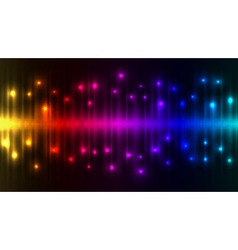 Abstract color lights background vector image