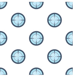 Optical sightpaintball single icon in cartoon vector