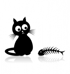 cat2 vector image