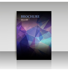 Abstract modern cover report brochure flyer design vector