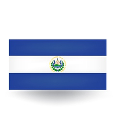 El salvador flag vector