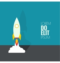Icon for a start up business project vector image