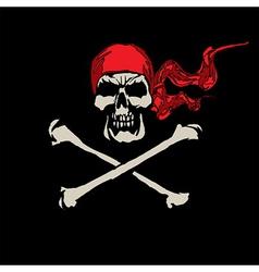 skull 03 vector image