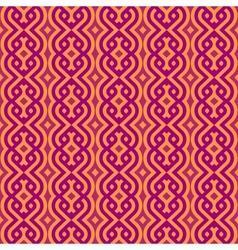 Vintage wallpaper pattern seamless background vector