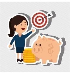 Businessperson avatar design vector