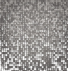 Created white and grey dot abstract background vector