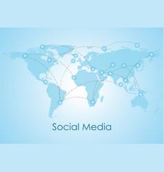 Social networking people conceptual vector