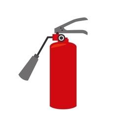 fire extinguisher equipement service emergency vector image