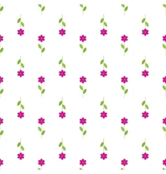 Flower isolated background in paper flat style vector
