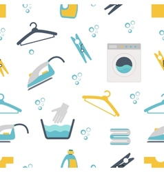 Laundry themed graphics vector