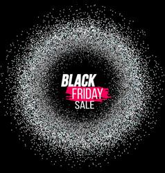 Black friday banner vector