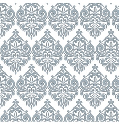Classic style floral ornament pattern vector image vector image