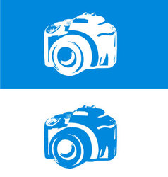 DSLR Camera icon vector image vector image