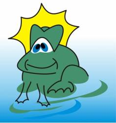 grenouille vector image vector image