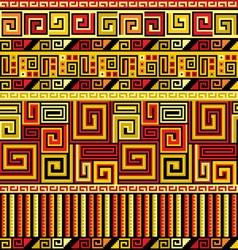peruvian ornament vector image vector image