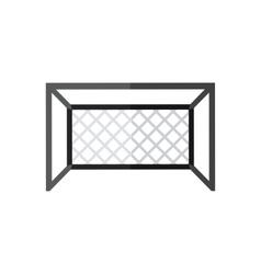 Soccer goal icon vector