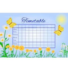 Timetable butterfly gonepteryx rhamni vector