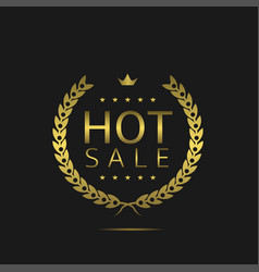 hot sale label vector image