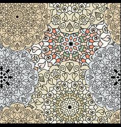Ethnic oriental seamless pattern vector