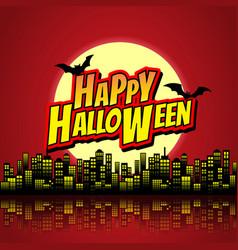 Halloween design background vector