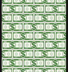 abstract dollar pattern vector image