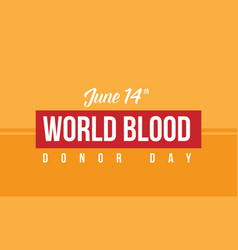 Collection world blood donor day background vector
