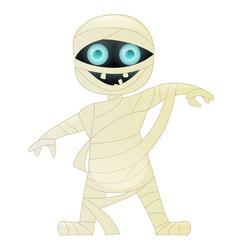 mummy cute cartoon character vector image vector image
