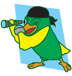 Pirates Bird vector image vector image