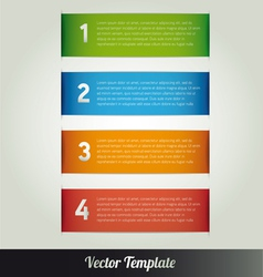 Banner Design template eps10 vector image