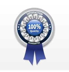 Satisfaction guarantee label eps 10 vector