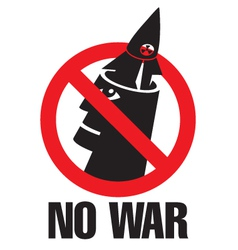 No war vector