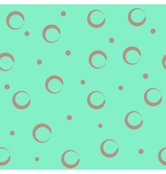 Circle pastel seamless pattern vector