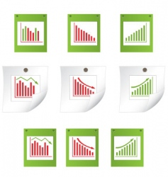 business statistics background vector image