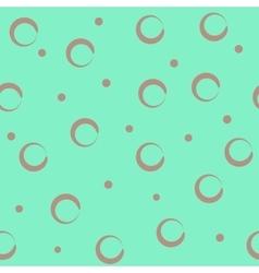 Circle pastel seamless pattern vector image