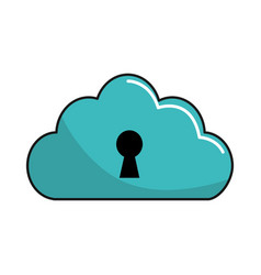 Security cloud data connections service vector