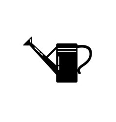 watering can silhouette icon in flat style vector image vector image