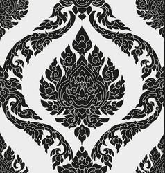 thai pattern design vector image