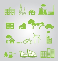 Renewable green vector