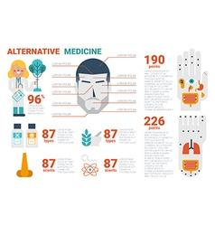 Alternative Medicine Concept vector image