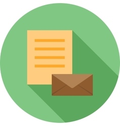 Email Documents vector image vector image