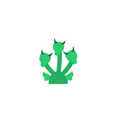 Flat icon hydra element of vector