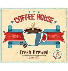 coffee2 color vector image