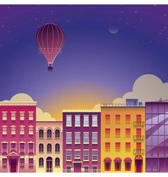 Nice City vector image