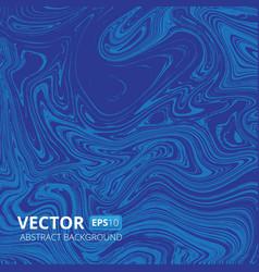 Blue marble or acrylic texture imitation vector