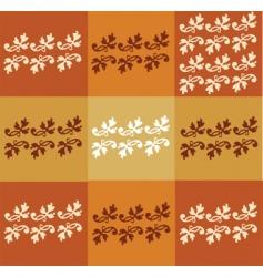 floral seasonal background vector image