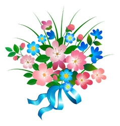 Bouquet vector