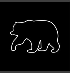 bear it is icon vector image