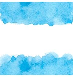 blue watercolor vector image