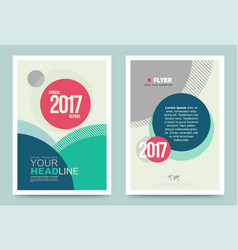 cover design template simply vector image