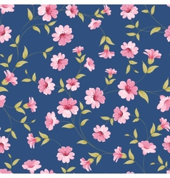 Flower samless pattern vector